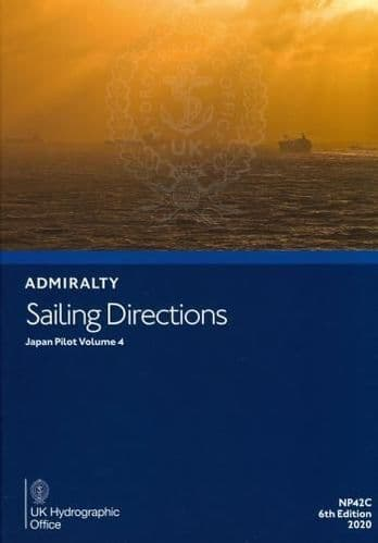 NP42C - Admiralty Sailing Directions: Japan Pilot Volume 4